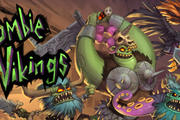 一款销量悲惨的超一流横版动作游戏《僵尸维京人》对极了万圣节的调调