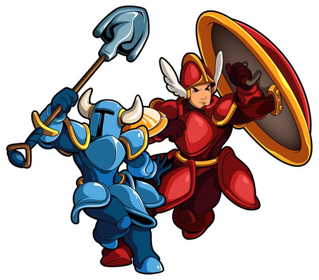 铲子骑士与盾骑士