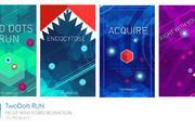 [iOS][Android]步步为营,TTZ Game推出创意玩法独立游戏《TwoDots Run 双旋》