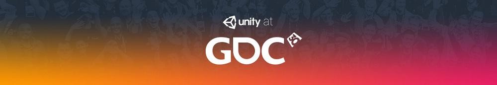 UNITY 在GDC 2016活动日程公布