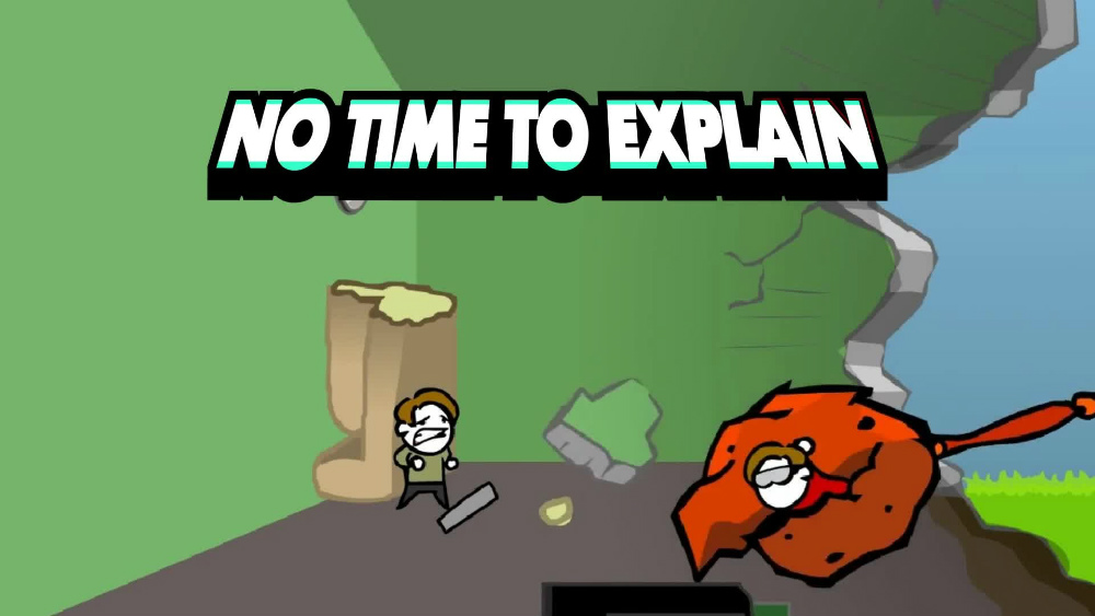 滑稽带感,独立游戏《No Time To Explain》3月29日正式登陆PS4!