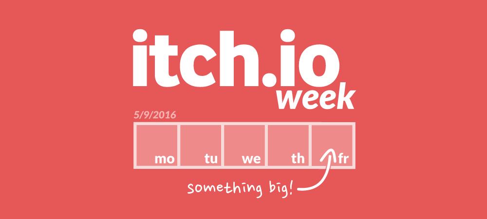 独立开发者福利!itch.io week活动进行中