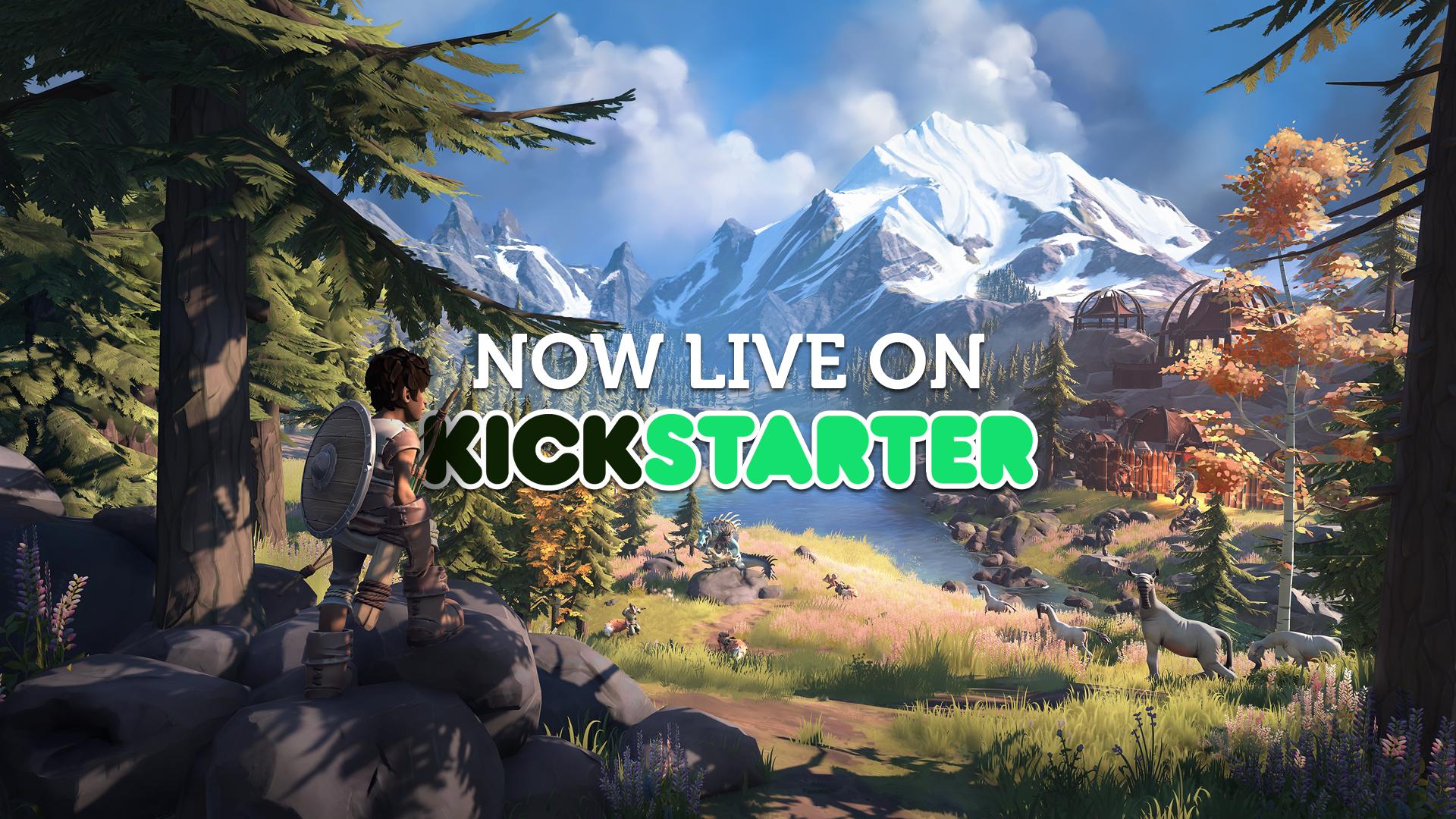 难道它能让玩家玩出《荒野之息》的感觉?开放世界独立游戏Pine正在众筹中!
