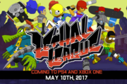 """棒球""乱斗游戏《致命联盟》(Lethal League)将于5月10日登陆PS4和Xbox One!"