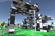 创造与破坏!满是方块的沙盒射击游戏——CubeTerrain登录青睐之光