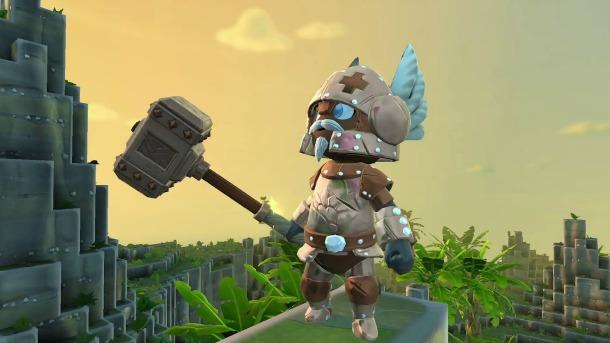 《传送门骑士》(Portal Knights)——结合了《暗黑破坏神》与《我的世界》的沙盒RPG推出主机版本