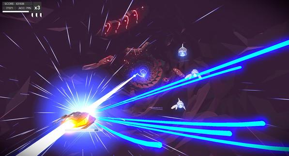 【游戏推荐】Aaero——跟随着强烈的节拍,奔向战场!