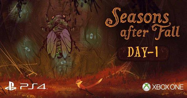 准备好迎接我们可爱的季节守护者了吗?Seanson after fall将于明天登录PS4和XboxONE