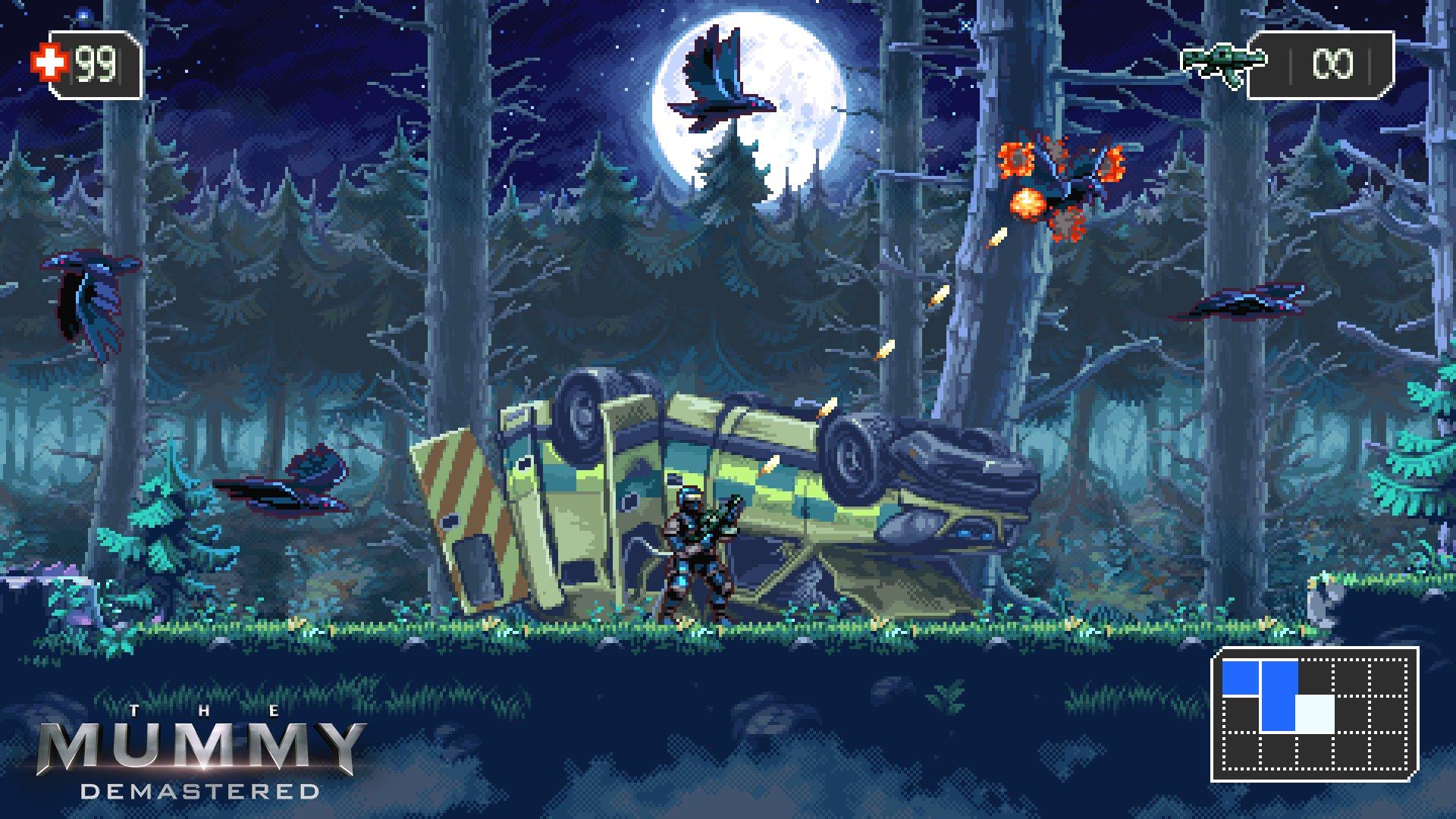Wayforward公布新作画面图,预计8月发售