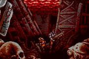 这款游戏充分表达出了《魂斗罗》与《合金弹头》的感觉——Blazing Chrome