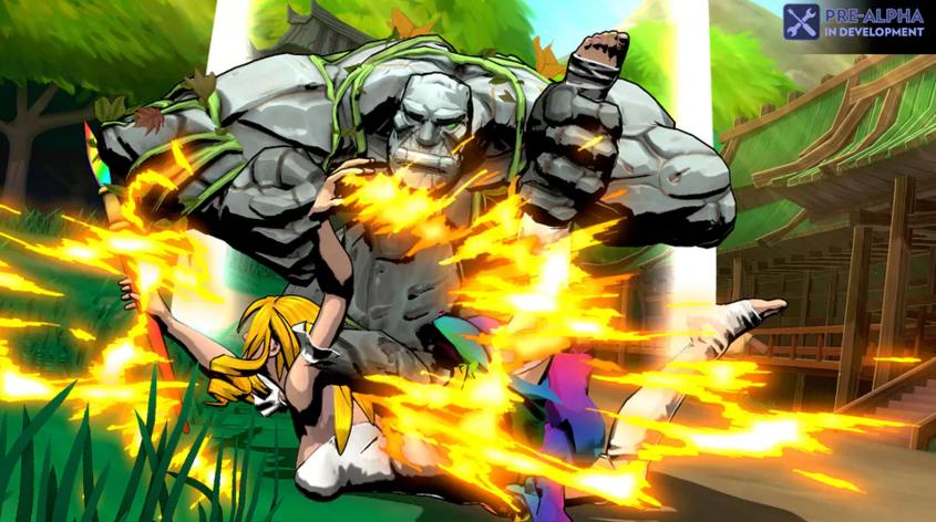 [视频]独立格斗游戏Fantasy Strike的潜力