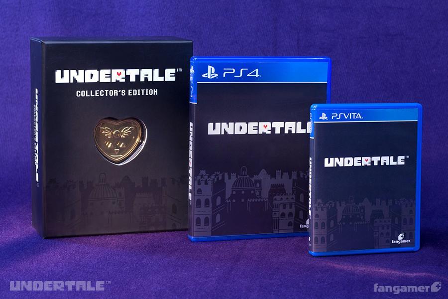 PS4《传说之下》(UNDERTALE)典藏版今日开启预定