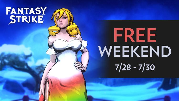 格斗游戏Fantasy Strike将在本周末开启免费测试