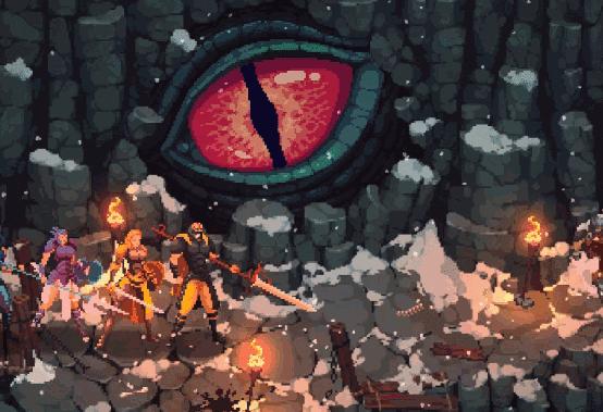 一款精致像素风RPG冒险游戏- The Iron Oath -开启Kickstarter众筹
