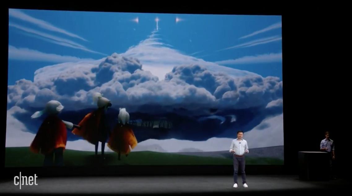 陈星汉在iPhone X发布会上公布新作《Sky》ios平台独占