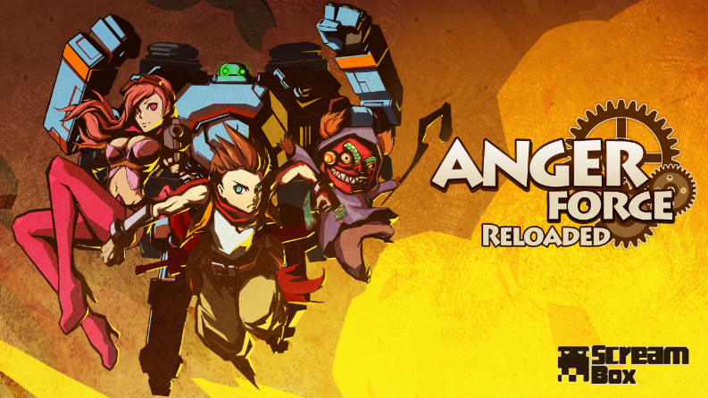 《愤怒军团:重装》(AngerForce: Reloaded)——独具特色的纵版射击游戏上架Steam!