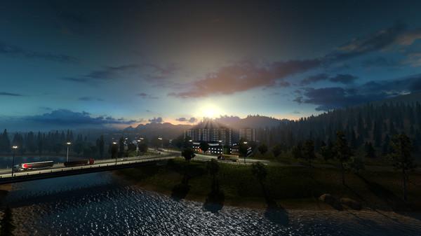 【游戏推荐】欧洲卡车模拟2(Euro Truck Simulator 2)——这样的生活或许也不错
