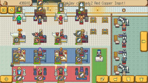 《武器店物语》登录iOS:做一回RPG游戏中的武器店老板