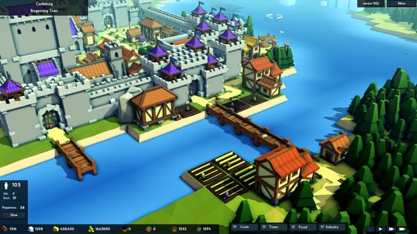 【游戏推荐】王国与城堡(Kingdoms and Castles)——从一个小村庄慢慢发展成大城市甚至是宏伟的城堡