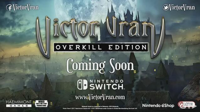 ARPG游戏《维克多·弗兰》(Victor Vran)宣布登录Switch