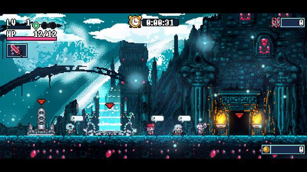 Roguelite平台动作游戏《Xenon Valkyrie+》即将发售PS4/PSV实体版