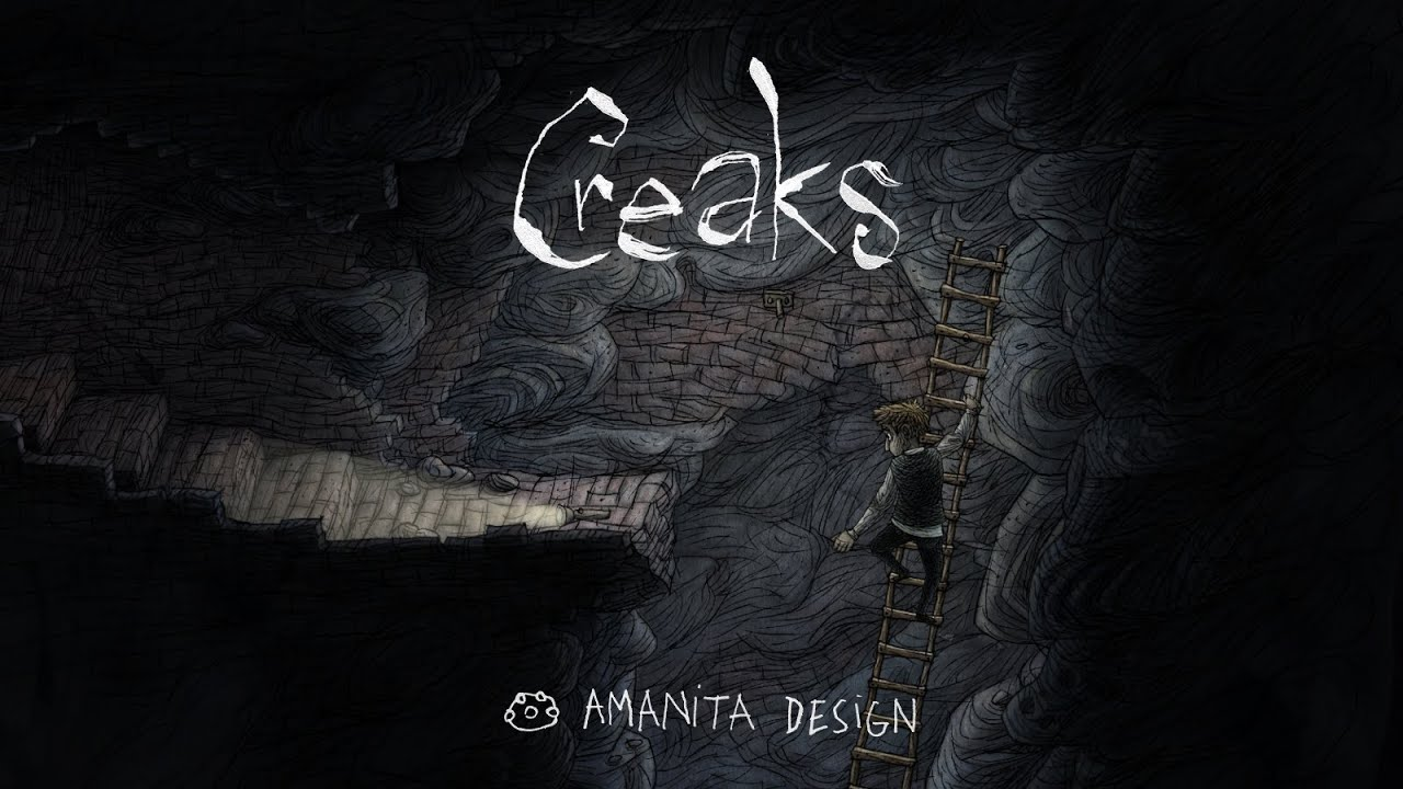 Amanita Design公布新作《Creaks》:小男孩儿的诡异冒险